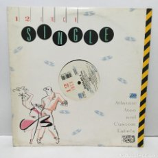 Discos de vinilo: MADAME X ‎– JUST THAT TYPE OF GIRL (EXTENDED REMIX) - 1987. Lote 226778685