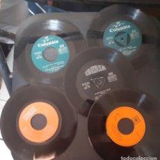 Discos de vinilo: LOTE 5 DISCOS 3 CUENTOS + 2 DISCOS CANCIONES INFANTILES (1 MAXI + 1 SINGLE) VER FOTOS Y DESCRIPCION. Lote 226779060