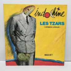 Discos de vinilo: INDOCHINE ‎– LES TZARS (VERSION LONGUE) - 1987. Lote 226785495