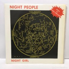 Discos de vinilo: NIGHT PEOPLE ‎– NIGHT GIRL - 1987. Lote 226788275