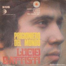 Discos de vinilo: 45 GIRI LUCIO BATTISTI BALLA LINDA /PRIGIONIERO DEL MONDO RICORDI 1968 ITALY CANTANGIRO UN DISCO X L. Lote 226788790