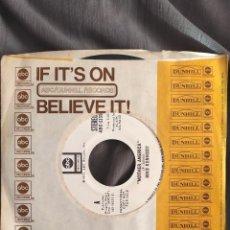 Discos de vinilo: MIKE KENNEDY - MOTHER AMERICA. SINGLE PROMOCIONAL EDICIÓN USA. Lote 226793605