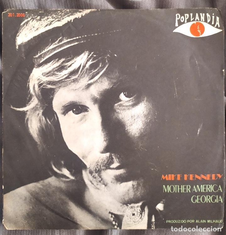 MIKE KENNEDY - MOTHER AMERICA. SINGLE EDICIÓN BRASILEÑA (Música - Discos - Singles Vinilo - Solistas Españoles de los 70 a la actualidad)