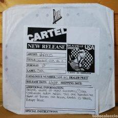 Discos de vinilo: LP ALBUM , VARIOS SKA-VILLE USA VOL.2 , TEST PRESSING.. Lote 226796685