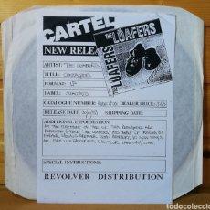 Discos de vinilo: LP ALBUM , THE LOAFERS , CONTAGIOUS , TEST PRESSING IMPORT.. Lote 226801200