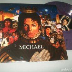 Discos de vinilo: MICHAEL JACKSON - MICHAEL .. LP SONY. - 2010 - PRACTICAMENTE INENCONTRABLE - NUEVO - VINILO COLOR. Lote 226802310