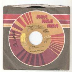 """Discos de vinilo: BLANCHE CARTER 7"""" USA IMPORTACION 45 MY MAN + RAIN 1975 SINGLE VINILO FUNK R&B SOUL DISCO RCA MIRA !. Lote 226803130"""