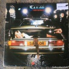 Discos de vinil: SAILOR - CHECKPOINT . LP . 1977 UK. Lote 226804519