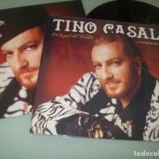 Discos de vinilo: TINO CASAL - DE LA PIEL DEL DIABLO - LA COLECCION DEFINITIVA ..LP DE WARNER MUSIC - 2016 - NUEVO. Lote 226816365