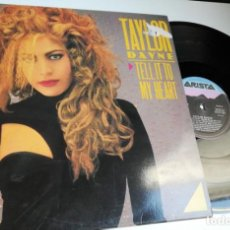 Discos de vinilo: ANTIGUO VINILO / OLD VINYL : TAYLOR DAYNE : TELL IT TO MY HEART (MAXI SINGLE 1987). Lote 226824365