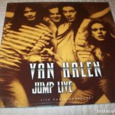 Discos de vinilo: VAN HALEN - JUMP LIVE ..LP NUEVO - EN DIRECTO INTERPRETAN 9 GRANDES EXITOS - PRECINTADO. Lote 226829230