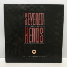 Discos de vinilo: SEVERED HEADS ‎– HOT WITH FLEAS - 1987. Lote 226844549