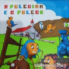 Discos de vinilo: VINILO A PULGUIÑA E O PULGÓN. MANOLO RICO. Lote 226845665