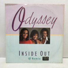 Discos de vinilo: ODYSSEY – INSIDE OUT (87 REMIX) - 1987. Lote 226849175