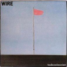 Discos de vinilo: LP WIRE PINK FLAG VINILO 180 G PUNK. Lote 294573443