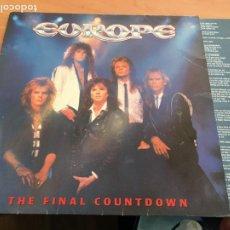 Dischi in vinile: EUROPE (THE FINAL COUNTDOWN) LP ESPAÑA 1986 (B-13). Lote 226872555
