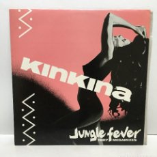 Discos de vinilo: KINKINA – JUNGLE FEVER (1987 MEGAMIXES) - 1987. Lote 226874900