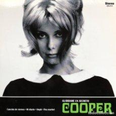 Discos de vinilo: SINGLE EP VINILO. COOPER. LOS FLECHAZOS. CANCIÓN DEL VIERNES. STEPH. MOD. POP. R&B. LEÓN. ESPAÑA. Lote 226877790