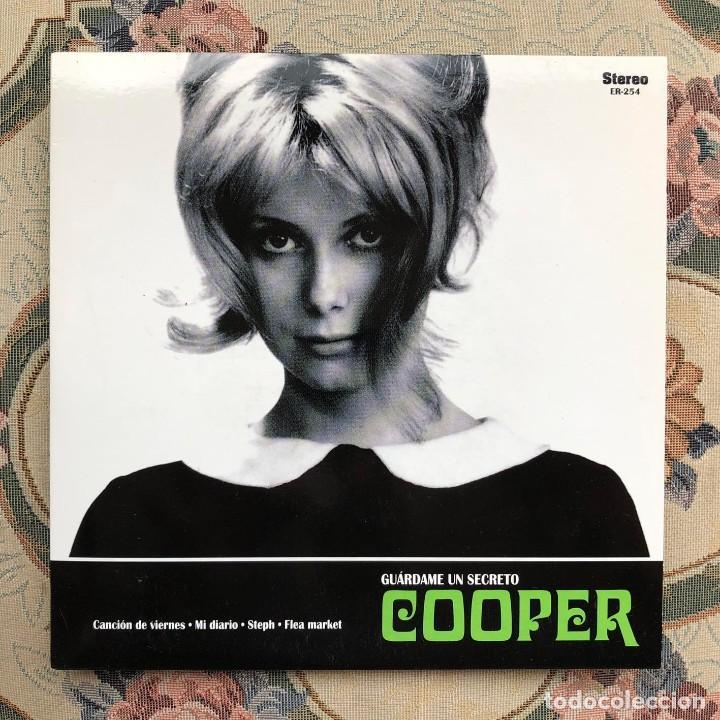 Discos de vinilo: Single EP Vinilo. Cooper. Los Flechazos. Canción del Viernes. Steph. Mod. Pop. R&B. León. España - Foto 2 - 226877790
