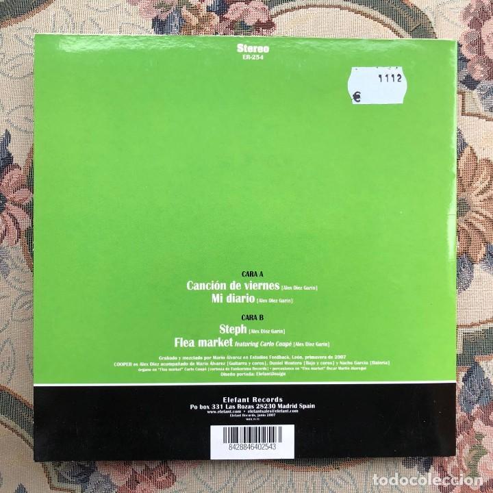Discos de vinilo: Single EP Vinilo. Cooper. Los Flechazos. Canción del Viernes. Steph. Mod. Pop. R&B. León. España - Foto 3 - 226877790