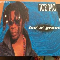 Discos de vinilo: ICE MC (ICE' N' GREEN) LP ESPAÑA 1994 (B-13). Lote 226877885