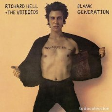 Disques de vinyle: RICHARD HELL & THE VOIDOIDS BLANK GENERATION (LP) . PUNK ROCK ROBERT QUINE CBGBS. Lote 226884670