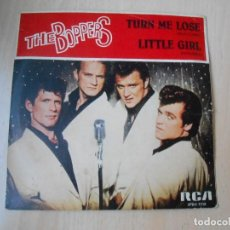 Discos de vinilo: BOPPERS, THE, SG, TURN ME LOSE (SUELTAME) + 1, AÑO 1982 PROMOCIONAL. Lote 226894600