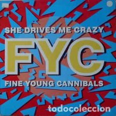 Discos de vinilo: FINE YOUNG CANNIBALS ‎– SHE DRIVES ME CRAZY. Lote 255604425