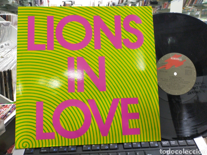 Discos de vinilo: Lions in LOVE maxi hypnoparty 1991 en perfecto estado - Foto 1 - 226904104