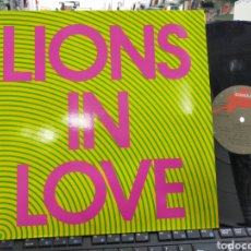 Discos de vinilo: LIONS IN LOVE MAXI HYPNOPARTY 1991 EN PERFECTO ESTADO /2. Lote 226904104