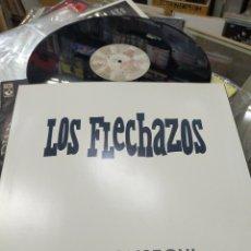 Discos de vinilo: LOS FLECHAZOS LO CONSEGUI / LA GRANJA FUIMOS CHICOS REBELDES 1991. Lote 226905059