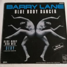 Discos de vinilo: BARRY LANE - BLUE BODY DANCER - 1987. Lote 226907190