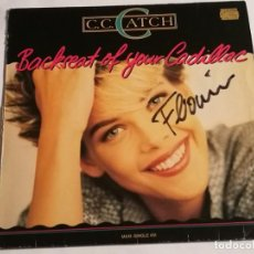 Discos de vinil: C.C. CATCH - BACKSEAT OF YOUR CADILLAC - 1988. Lote 226910725