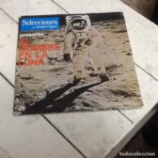 Discos de vinilo: EL HOMBRE EN LA LUNA-SELECCIONES READER' DIGEST-SINGLE. Lote 226917971