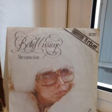 Discos de vinilo: SINGLE BETTY MISSIEGO. SU CANCION - CONTRASTES. EUROVISION 1979. Lote 226930930
