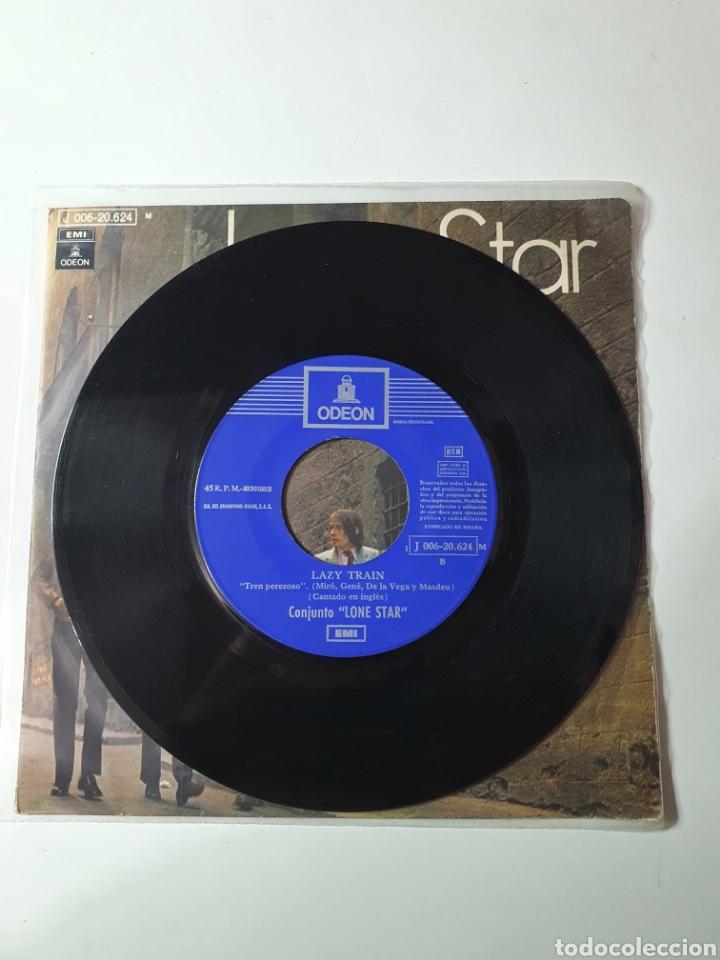 Discos de vinilo: Lone Star - Quiero Besar Otra Vez Tus Labios / Lazy Train, Odeon 1970. - Foto 4 - 226935380