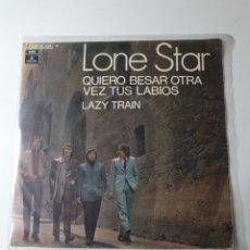 Discos de vinilo: LONE STAR - QUIERO BESAR OTRA VEZ TUS LABIOS / LAZY TRAIN, ODEON 1970.. Lote 226935380