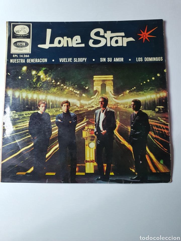 LONE STAR - NUESTRA GENERACIÓN/VUELVE SLOOPY/SIN SU AMOR/LOS DOMINGOS, EMI 1966. (Música - Discos de Vinilo - EPs - Grupos Españoles de los 70 y 80)
