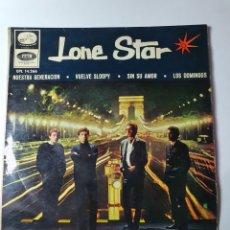 Discos de vinilo: LONE STAR - NUESTRA GENERACIÓN/VUELVE SLOOPY/SIN SU AMOR/LOS DOMINGOS, EMI 1966.. Lote 226939590