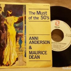 Discos de vinilo: THE MUST OF THE 50´S - ANNI ANDERSON & MAURICE DEAN. Lote 226942995