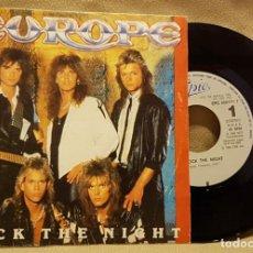 Discos de vinilo: EUROPE - ROCK THE NIGHT. Lote 226943140