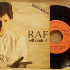 Discos de vinilo: RAF SELF CONTROL. Lote 226943745