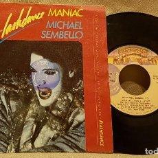 Disques de vinyle: MANIAC - MICHAEL SEMBELLO. Lote 226944060