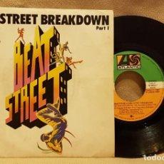 Discos de vinilo: BEAT STREET BREAKDOWN PART 1. Lote 226944190