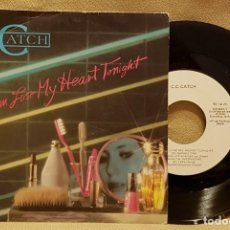 Disques de vinyle: C.C. CATCH - I CAN LOSE MY HEART TONIGHT. Lote 226945300