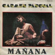 Discos de vinilo: CARLOS PASCUAL / MAÑANA / PIENSO (COMEDIA MUSICAL ANNIE) SINGLE PROMO 1981 CON HOJA DISCOGRAFICA. Lote 226945380