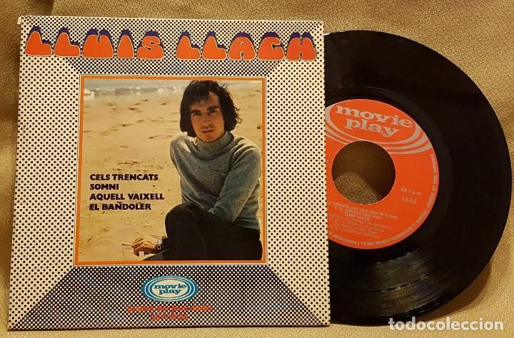 LLUIS LLACH - CELS TRENCATS - SOMNI - AQUELL VAIXELL - EL BANDOLER - CARPETA ABIERTA (Música - Discos de Vinilo - EPs - Solistas Españoles de los 70 a la actualidad)