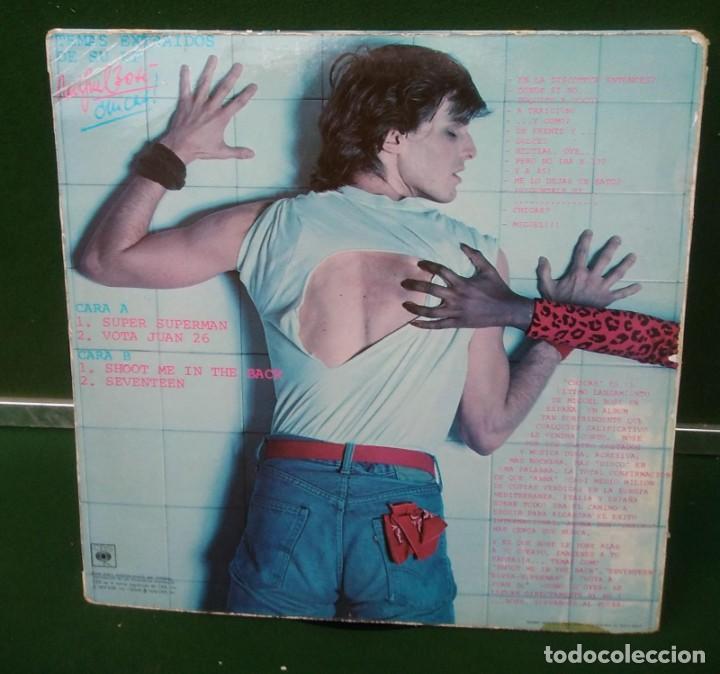 Discos de vinilo: DISCO DE VINILO MIGUEL BOSE ESPECIAL CHICAS CON SUPER SUPERMAN CBS 1979 - Foto 2 - 226956955