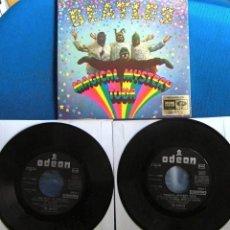 Discos de vinilo: BEATLES DOBLE EP ESTEREOFONICO EMI ODEON ESPAÑA ORIGINAL EPOCA MUY BUENA CONSERVACION. Lote 226964090