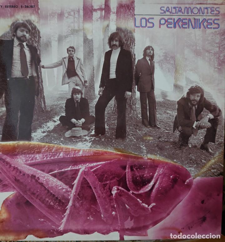 LOS PEKENIKES LP PORTADA DOBLE SELLO MOVIEPLAY AÑO 1973 (Música - Discos - LP Vinilo - Grupos Españoles de los 70 y 80)